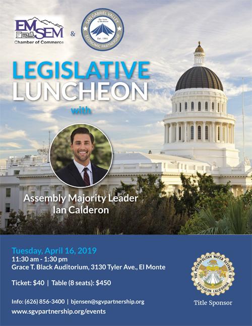 San Gabriel Valley Economic Partnership - Legislative